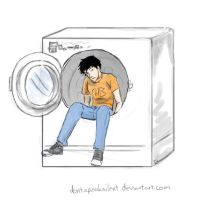 Percy Jackson and The Lost Socks by DontSpeakSilent