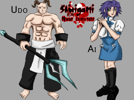 Shinigami Concept- Minor Chars by miss-mustang