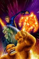 Fantastic Four by fernandogoni