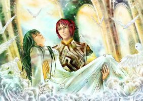 Wander and Mono by eagiel
