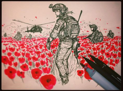 Lest we forget by ThomChen114