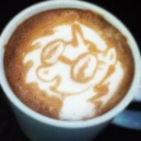 Dj Pon3 Latte by CappuccinoFrosting