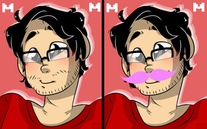 Markiplier icons! by Monodes