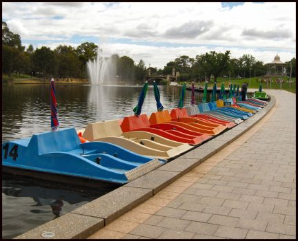Paddle Boats by Pianochick66