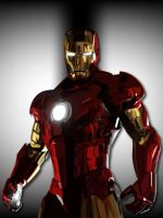 Iron Man Vector by GraySource