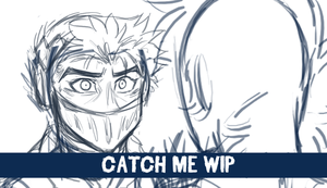 Catch Me Seth and Aiden Animation WIP by KasaraWolf