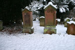 Winter cemetery stock 13 by Malleni-Stock
