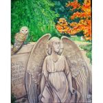 Autumn in Oakdale Cemetery by VanessasCustomArt