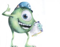 Mike Wazowski by ad95am