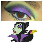 Maleficent Inspired Eyes by KLRainbow