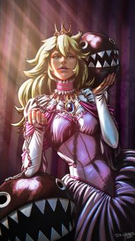 Queen Peach by Zombie-Graves
