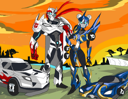 Com - Ryucron and Chun-drive by Ninjaspartankx5