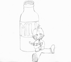 Ed and milk by flipswitch42