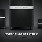 BW MM1 Speakers Icon by macintex
