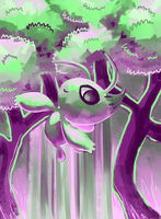 Celebi Speedpaint by Pombei
