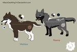 Mattew and Reena Sheet 2014 by BlackDeaWing14