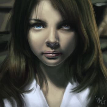 Yet another portrait by m-gomes