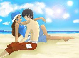 Sweetly, at the Beach ZxK by Harei-ruto