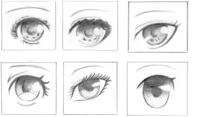 Drawing eyes by yeochidae
