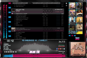 Artemis Skin for Foobar2K by Atarod