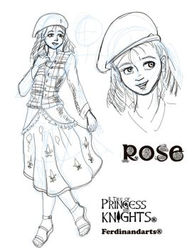 Rose Sketche by piojote