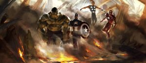 Avengers by ChristianNauck