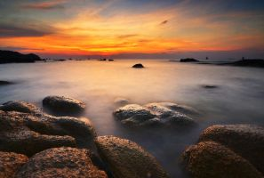 Koh Tao Sunset by comsic