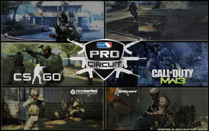 MLG Pro Circuit : CSGO and CODMW3 by IWSFOD-D
