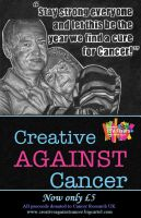 Creative Against Cancer Sale Poster by ChemicalsSavedMe