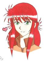 Kurama for you-colored by Maki123