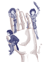 Pocket Demigods, Greek Edition by theOriginalKEA