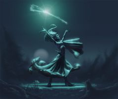 Elphaba Discovers her power by artzilla