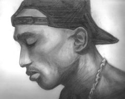 Tupac Shakur by ninja-at-large