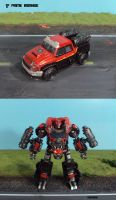 Transformers Prime Ironhide by Unicron9