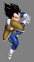 Vegeta - Galick Gun by dbzataricommunity