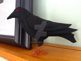 Red Eyed Crow 3 by Bwabbit
