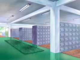 School Shoe Lockers by MarkLauck