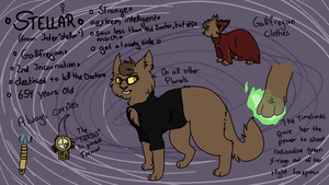 Doctor Who OC - Stellar [Cat Form] by TheDoctorTrash