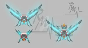 Sparking Jetpack of Cybella by TFP-RatchBella-Medic