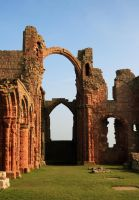 Holy Island priory by scotto