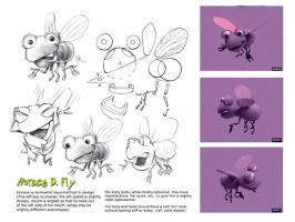 Horace the Fly CG character by Eyth