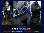 Garrus Vakarian Mass Effect 3 by Alexwazz