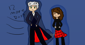 12th Doctor and Clara Day 12 by Fgpinky123