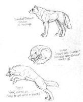 Wolfhome - Original Poses Set3 by Goldenwolf