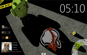 Android Crime Scene by jumping4jc