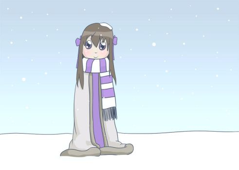 Hanako in Winter by dxprog