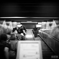 ESCALATORS - Yashica by GustavBAD