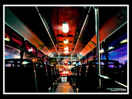 The Bus into the night by Vanimelir