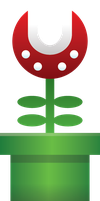 Piranha Plant by GuillermoVA