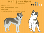 M!K's Brave Heart -Anuk- by AixaRawr